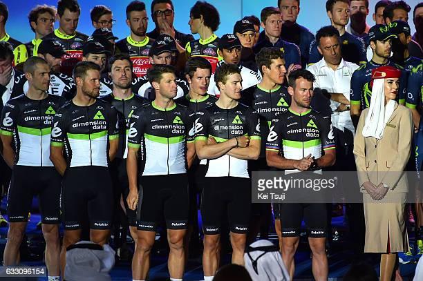 4th Tour Dubai 2017 / Teams Presentation Team Dimension Data / Mark CAVENDISH / Nick DOUGALL / Bernhard EISEL / Ryan GIBBONS / Reinardt JANSE VAN...