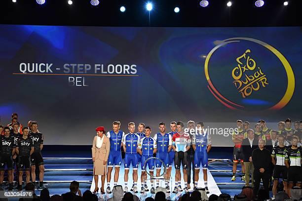 4th Tour Dubai 2017 / Teams Presentation Team QuickStep Floors / Marcel KITTEL / Julian ALAPHILIPPE / Bob JUNGELS / Davide MARTINELLI / Fabio...
