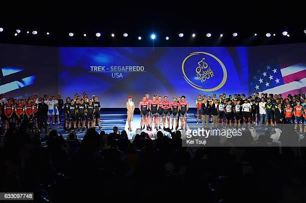4th Tour Dubai 2017 / Teams Presentation Team Trek Segafredo / John DEGENKOLB / Fumiyuki BEPPU / Julien BERNARD / Koen DE KORT / Michael GOGL /...