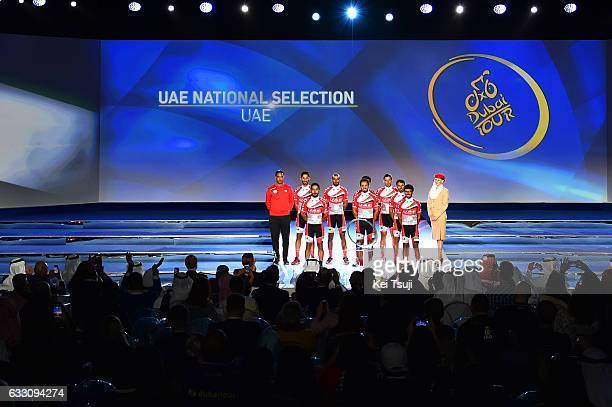 4th Tour Dubai 2017 / Teams Presentation UAE National Selection / Mohammed Yousef AL MANSOURI / Majed ALBLOUSHI / Badr ALHAMMADI / SAIF ALKAABI /...