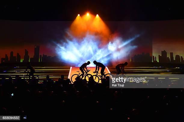4th Tour Dubai 2017 / Teams Presentation Vittorio BRUMOTTI / Silhouet / Westin Dubai / Mina Seyahi / Teams Presentation / Dubai Tour /