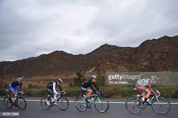 4th Tour of Beijing 2014 / Stage 2 ALAPHILIPPE Julian / DANIEL Maxime / GOUGEARD Alexis / MANGEL Laurent / Chongli Tang Inn Hotel Yanqing Badaling...