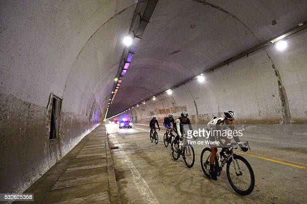 4th Tour of Beijing 2014 / Stage 2 ALAPHILIPPE Julian / GOUGEARD Alexis / SILVESTRE Fabio / MANGEL Laurent / Illustration Illustratie / Tunnel /...