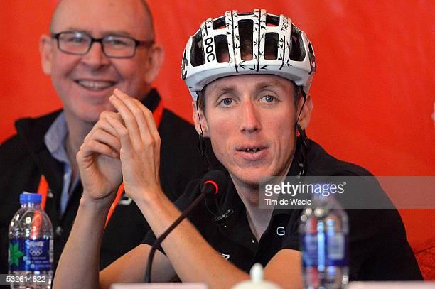 4th Tour of Beijing 2014 / Team Presentation Daniel MARTIN Special PANDA Helmet Casque / Press Conference Persconferentit PC / Presentation Equipes...