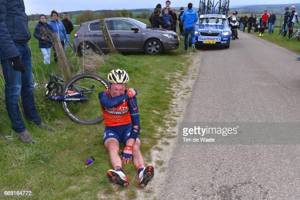 52nd Amstel Gold Race 2017 / Men Enrico GASPAROTTO / Injury / Crash / Maastricht Valkenburg / Men /