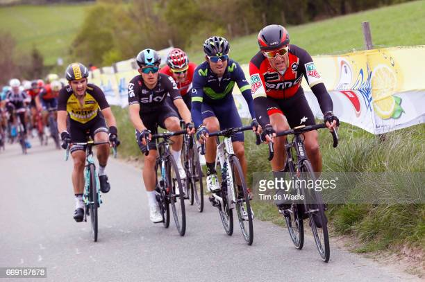 52nd Amstel Gold Race 2017 / Men Greg VAN AVERMAET / Alejandro VALVERDE / Michal KWIATKOWSKI / Maastricht Valkenburg / Men / pool bc /