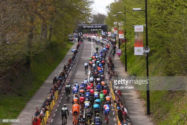 52nd Amstel Gold Race 2017 / Men Peloton / Cauberg / Landscape / Maastricht Valkenburg / Men /