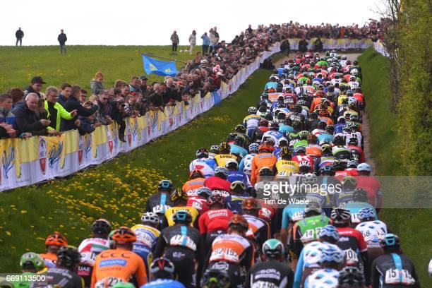 52nd Amstel Gold Race 2017 / Men Peloton / Fans / Public / Maastricht Valkenburg / Men /