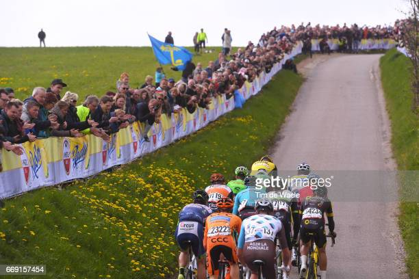 52nd Amstel Gold Race 2017 / Men Peloton / Gulpenerberg / Landscape / Maastricht Valkenburg / Men /
