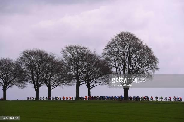 52nd Amstel Gold Race 2017 / Men Peloton / Silhouet / Landscape / Maastricht Valkenburg / Men /