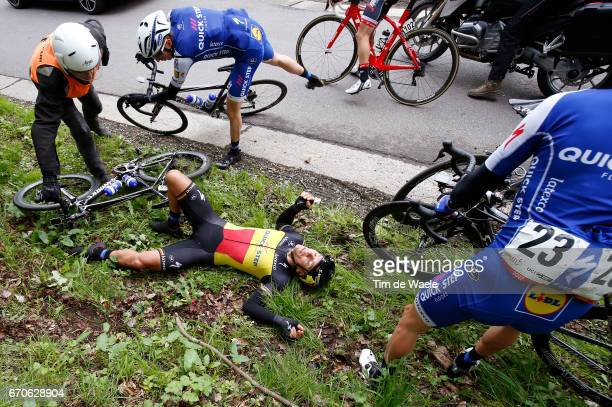 52nd Amstel Gold Race 2017 / Men Philippe GILBERT Crash / Daniel MARTIN / Maastricht Valkenburg / Men /