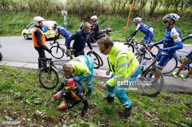 52nd Amstel Gold Race 2017 / Men Philippe GILBERT Crash / Doctor / Maastricht Valkenburg / Men /