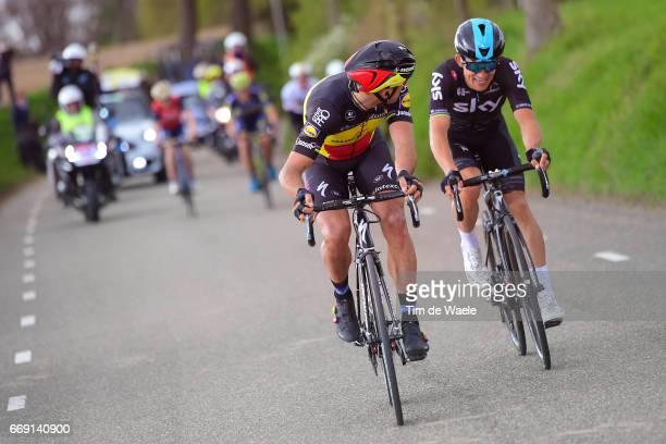 52nd Amstel Gold Race 2017 / Men Philippe GILBERT / Michal KWIATKOWSKI / Maastricht Valkenburg / Men / pool nv /
