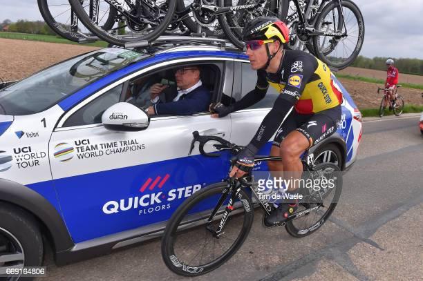 52nd Amstel Gold Race 2017 / Men Philippe GILBERT / Wilfried PEETERS Sportsdirector Team QuickStep Floors / Maastricht Valkenburg / Men /