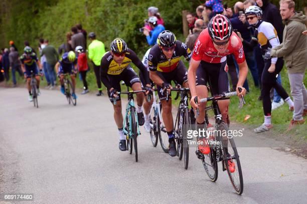 52nd Amstel Gold Race 2017 / Men Tiesj BENOOT / Philippe GILBERT / Bertjan LINDEMAN / Maastricht Valkenburg / Men / pool nv /