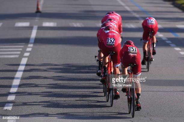 52nd TirrenoAdriatico 2017 / Stage 1 Team Katusha Alpecin / Angel VICIOSO / Reto HOLLENSTEIN / Lido di Camaiore Lido di Camaiore / TTT / Team Time...