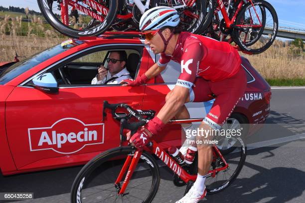 52nd TirrenoAdriatico 2017 / Stage 2 Reto HOLLENSTEIN / Team Katusha Alpecin / Car / Camaiore Pomarance 364m /