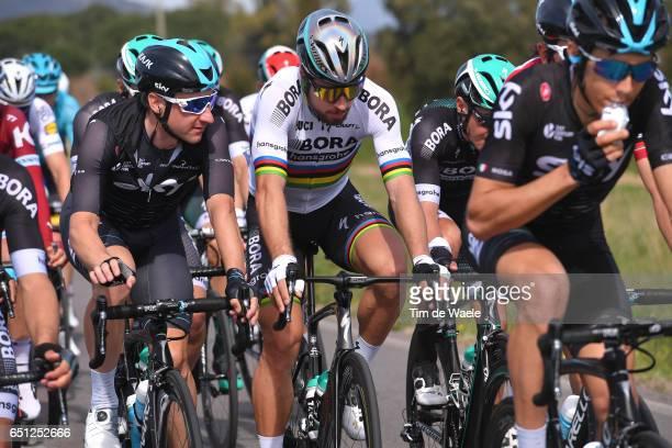 52nd TirrenoAdriatico 2017 / Stage 3 Peter SAGAN / Elia VIVIANI / Monterotondo Marittimo Montalto di Castro /