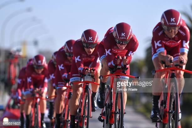 52nd TirrenoAdriaticoq 2017 / Stage 1 Team Katusha Alpecin / Reto HOLLENSTEIN / Lido di Camaiore Lido di Camaiore / TTT / Team Time Trial /