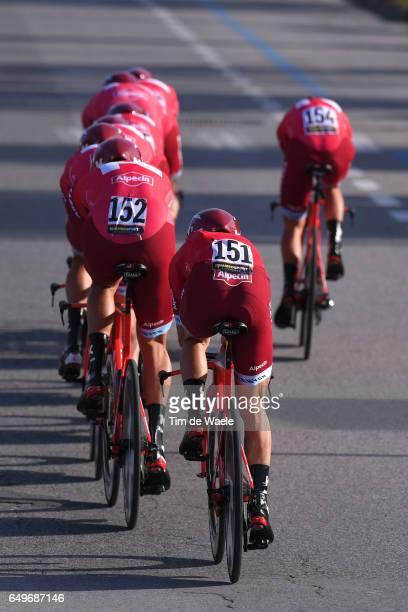 52th Tirreno Adriatico 2017 / Stage 1 Team Katusha Alpecin / Angel VICIOSO / Reto HOLLENSTEIN / Lido Di Camaiore Lido Di Camaiore / Team Time Trial...