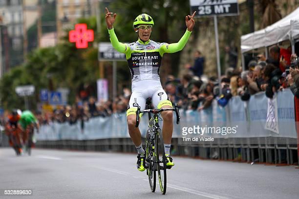 53rd Trofeo Laigueglia 2016 Arrival / Andrea FEDI Celebration Joie Vreugde / LaiguegliaLaigueglia / Tim De Waele