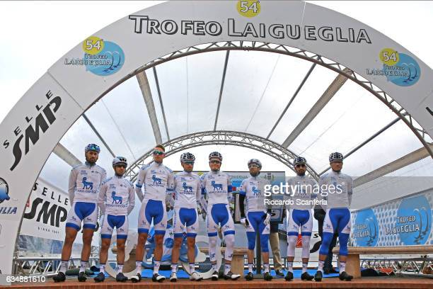 54th Trofeo Laigueglia 2017 Start / Podium / Joonas HENTTALA / Romain GIOUX / Rik VAN IJZENDOORN / Andrea PERON / Brian KAMSTRA / David LOZANO /...