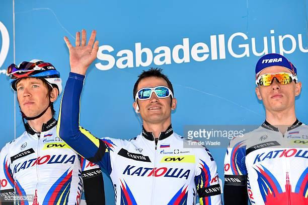 54th Vuelta Pais Vasco 2015/ Stage 1 Alexandr KOLOBNEV BilbaoBilbao Tour Ronde Baskenland/ Etape Rit/ Tim De Waele