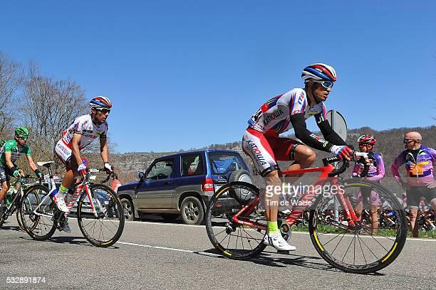 54th Vuelta Pais Vasco 2015/ Stage 3 Alexandr KOLOBNEV / Joaquim RODRIGUEZ / Angel VICIOSO VitoriaZumarraga Tour Ronde Baskenland/ Etape Rit/ Tim De...