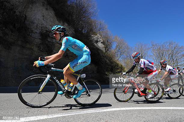 54th Vuelta Pais Vasco 2015/ Stage 3 Rein TAARAMAE / Alexandr KOLOBNEV VitoriaZumarraga Tour Ronde Baskenland/ Etape Rit/ Tim De Waele