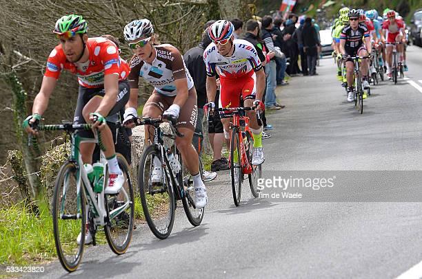 54th Vuelta Pais Vasco 2015/ Stage 4 Carlos BETANCUR Alexandr KOLOBNEV ZumarragaEibarArrate Tour Ronde Baskenland/ Etape Rit/ Tim De Waele