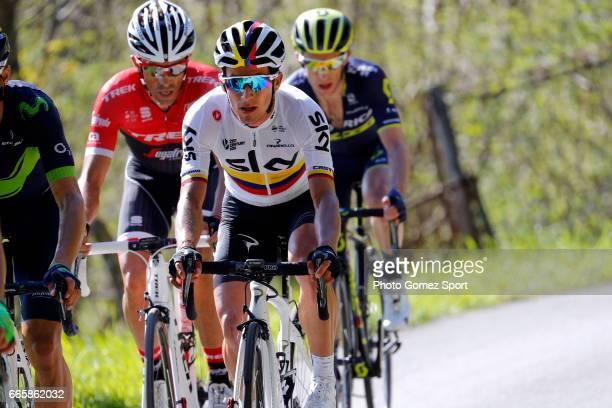 57th Vuelta Pais Vasco 2017 / Stage 5 Alberto CONTADOR / Sergio LUIS HENAO / Simon YATES / Bilbao EibarUsartzako 580m / Tour of Basque Country /...