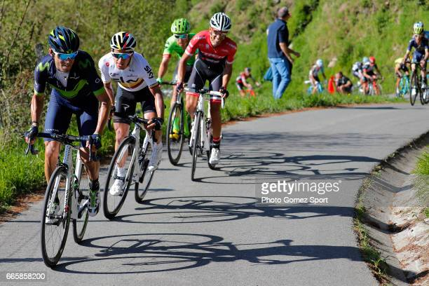 57th Vuelta Pais Vasco 2017 / Stage 5 Alejandro VALVERDE / Alberto CONTADOR / Sergio LUIS HENAO / Bilbao EibarUsartzako 580m / Tour of Basque Country...