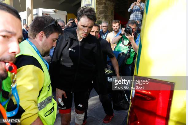 57th Vuelta Pais Vasco 2017 / Stage 5 Arrival / Samuel SANCHEZ / Crash / Injury / Bilbao EibarUsartzako 580m / Tour of Basque Country / Euskal...