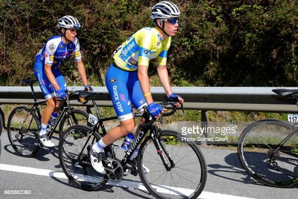 57th Vuelta Pais Vasco 2017 / Stage 5 David DE LA CRUZ Yello Leader Jersey / Enric MAS / Bilbao EibarUsartzako 580m / Tour of Basque Country / Euskal...