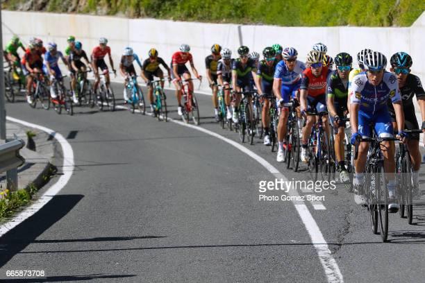 57th Vuelta Pais Vasco 2017 / Stage 5 Enric MAS / Michal KWIATKOWSKI / Alejandro VALVERDE / Peloton / Bilbao EibarUsartzako 580m / Tour of Basque...