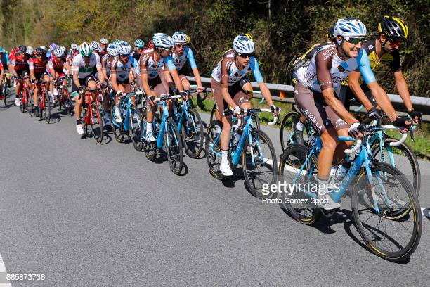 57th Vuelta Pais Vasco 2017 / Stage 5 Matteo MONTAGUTI / Julien BERARD / Mickael CHEREL / Romain BARDET / Team AG2R La Mondiale / Bilbao...