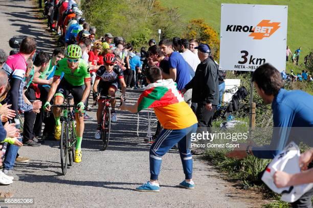 57th Vuelta Pais Vasco 2017 / Stage 5 Michael WOODS / Fans / Bilbao EibarUsartzako 580m / Tour of Basque Country / Euskal Herriko Itzulia /