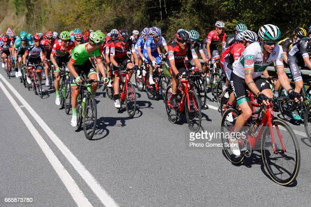 57th Vuelta Pais Vasco 2017 / Stage 5 Nicolas ROCHE / Samuel SANCHEZ / Peloton / Bilbao EibarUsartzako 580m / Tour of Basque Country / Euskal Herriko...