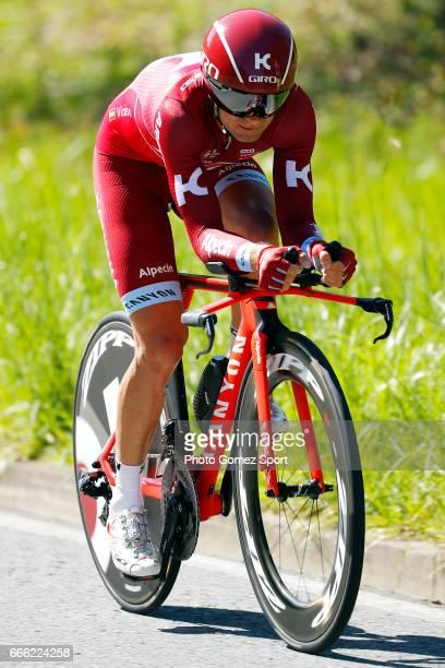 57th Vuelta Pais Vasco 2017 / Stage 6 Angel VICIOSO / Eibar Eibar / Individual Time Trial / ITT / Tour of Basque Country / Euskal Herriko Itzulia /