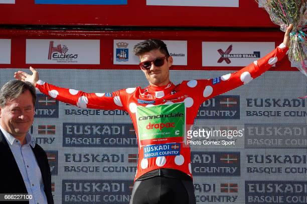 57th Vuelta Pais Vasco 2017 / Stage 6 Podium / Alex HOWES Polka Dot Mountain Jersey Celebration / Eibar Eibar / Individual Time Trial / ITT / Tour of...