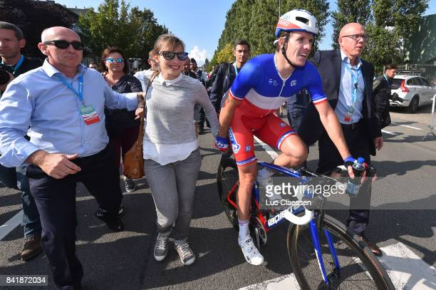 5th Brussels Cycling Classic 2017 Arnaud DEMARE Celebration / Wife Anna/ Brussels Brussels /
