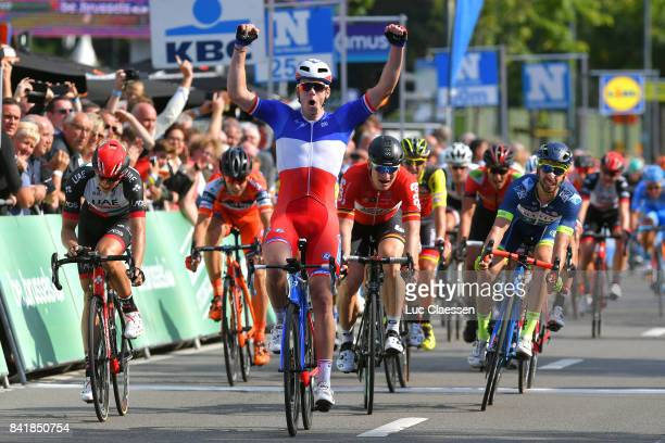 5th Brussels Cycling Classic 2017 Arrival / Arnaud DEMARE / Celebration / Marko KUMP / Andre GREIPEL / Kenny DEHAES / Brussels Brussels /