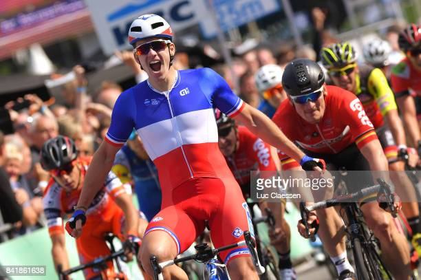 5th Brussels Cycling Classic 2017 Arrival / Arnaud DEMARE Celebration / Andre GREIPEL / Brussels Brussels /