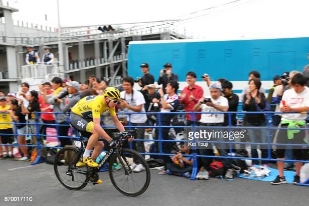 5th Tour de France Saitama Criterium 2017 Christopher FROOME Yellow Leader Jersey / Saitama Saitama / TDF Saitama Criterium / ©Tim De WaeleKT/Tim De...