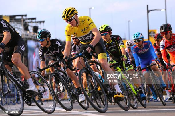 5th Tour de France Saitama Criterium 2017 Christopher FROOME Yellow Leader Jersey / Kenny ELISSONDE / Saitama Saitama / TDF Saitama Criterium / ©Tim...