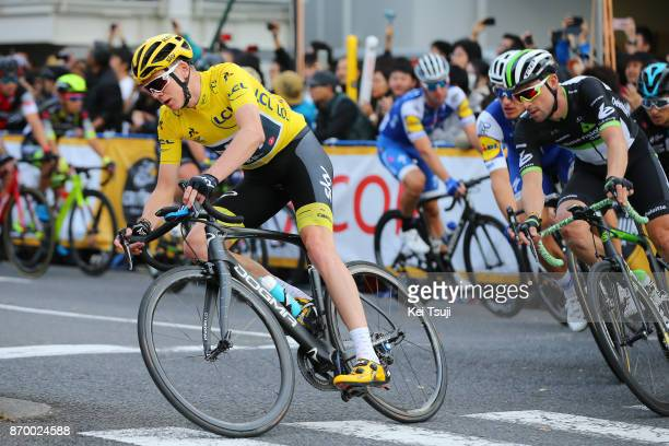 5th Tour de France Saitama Criterium 2017 Christopher FROOME Yellow Leader Jersey / Bernhard EISEL / Saitama Saitama / TDF Saitama Criterium / ©Tim...