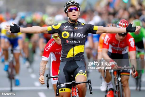 63rd Ruta del Sol 2017 / Stage 4 Arrival / Bryan COQUARD / Celebration / La Campana Sevilla / Vuelta a Andalucia /