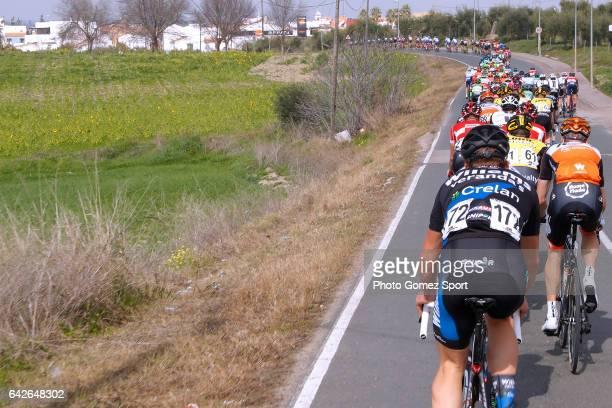 63rd Ruta del Sol 2017 / Stage 4 Landscape / Peloton / La Campana Sevilla / Vuelta a Andalucia /
