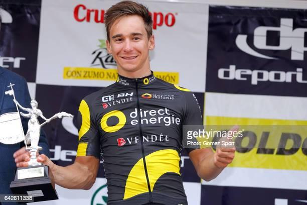 63rd Ruta del Sol 2017 / Stage 4 Podium / Bryan COQUARD / Celebration / La Campana Sevilla / Vuelta a Andalucia /