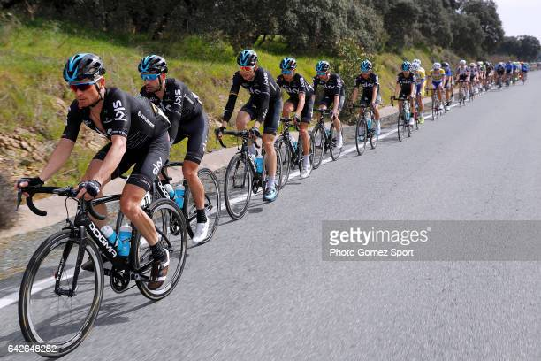 63rd Ruta del Sol 2017 / Stage 4 Vasil KIRYIENKA / Team SKY / Peloton / La Campana Sevilla / Vuelta a Andalucia /